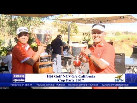 PHÓNG SỰ CỘNG ĐỒNG: Hội golf NCVGA California thi đấu Cup Party 2017