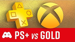 Playstation Plus vs Xbox Live Gold