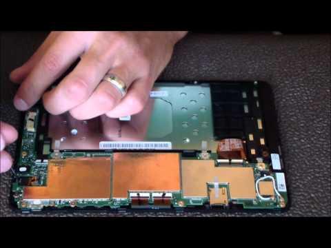 Dell Venue 8 Pro 3845 Disassembly Guide (Micro USB Port Repair)