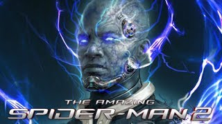 Electro Concept Artwork For The Amazing Spider-Man 2