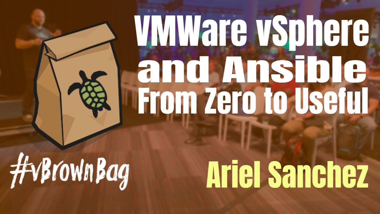 VMware vSphere and Ansible From Zero to Useful w @arielsanchezmor