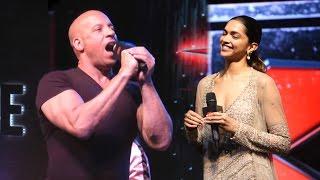 Vin Diesel Speaking Hindi During xXx: Return Of Xander Cage Movie Promotions