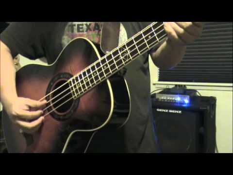 fender t bucket acoustic electric bass guitar youtube. Black Bedroom Furniture Sets. Home Design Ideas