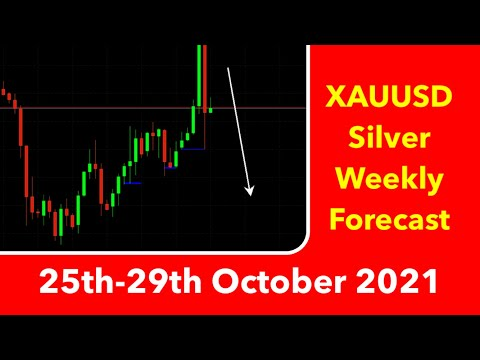 Gold & Silver Weekly Forecast 25th-29th October 2021 Forex Trade Technical Analysis XAUUSD XAGUSD