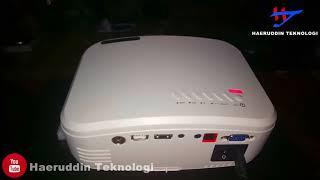 UNBOXING LCD Projector Mini C6 Nartor