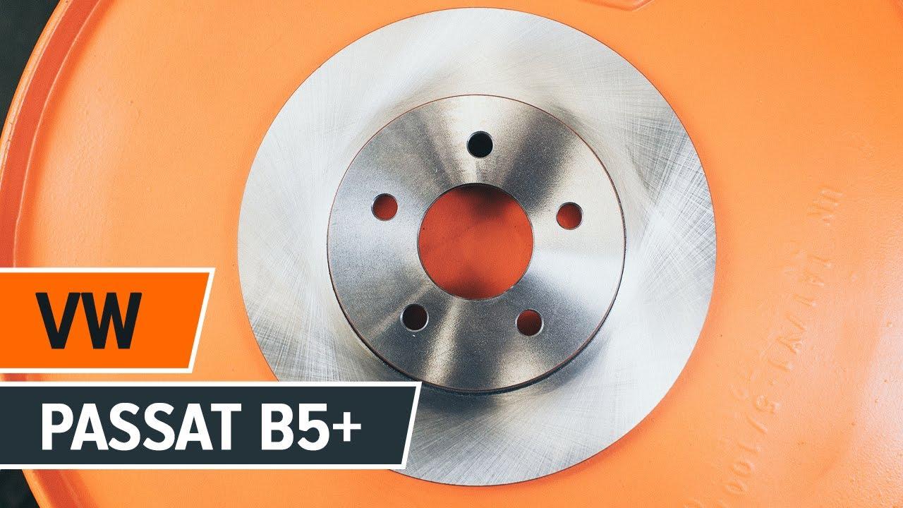 Jak wymienić tylne tarcze hamulcowe i tylne klocki hamulcowe w VW PASSAT B5+ TUTORIAL   AUTODOC