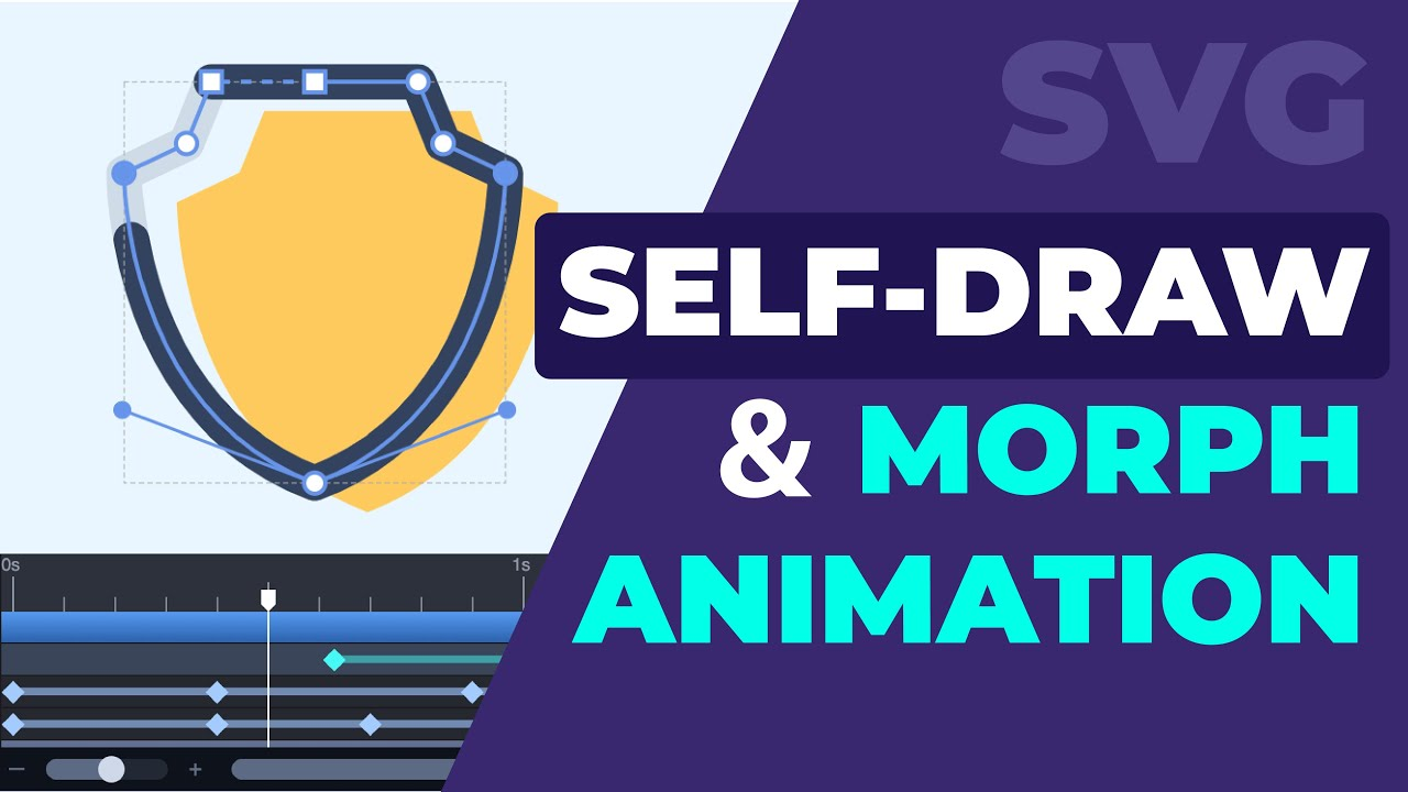 Combine Shape Animation With a Self-Drawing Effect