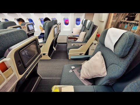 Tripreport Cathay Pacific First Class Boeing 777 300er Hong Kong Taipei Taoyuan Youtube