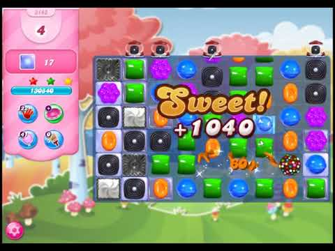 Candy Crush Saga Level 3143 - NO BOOSTERS