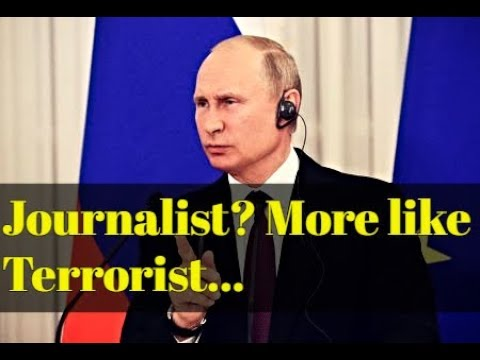 Putin Teaches French Journalist the Difference Between Journalists and Terrorists