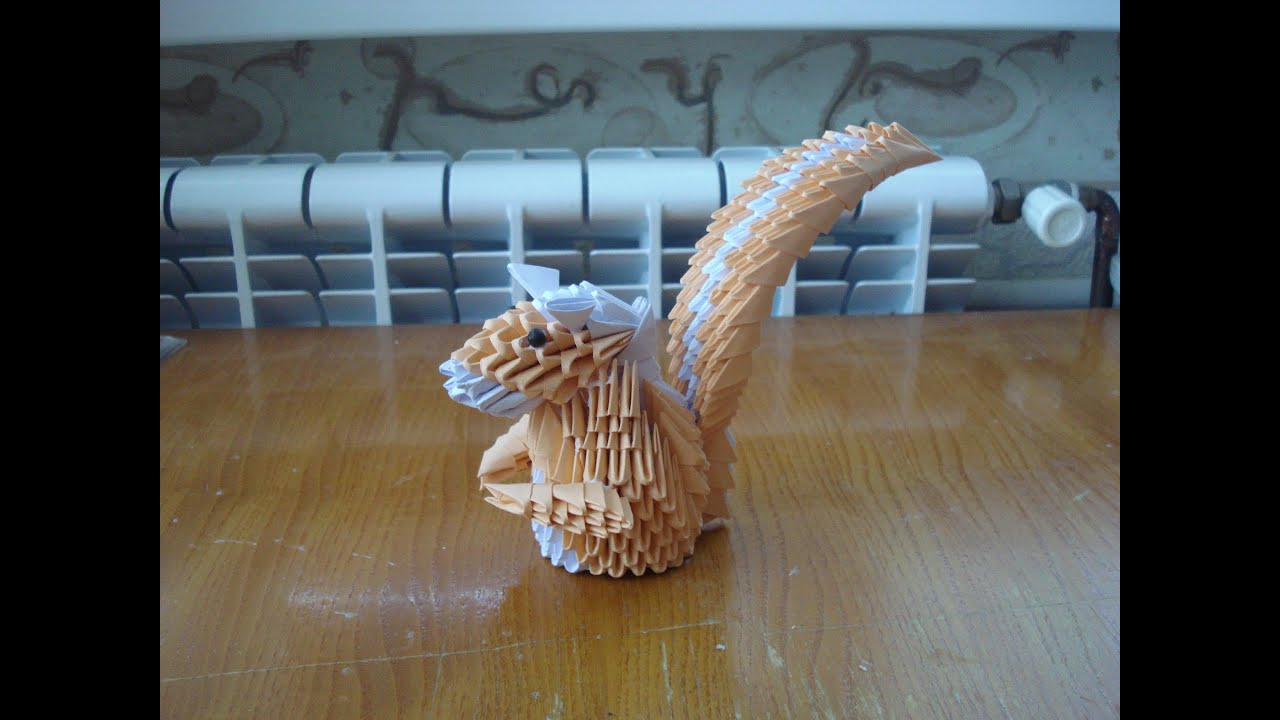 3d origami squirrel tutorial part 1 youtube jeuxipadfo Choice Image