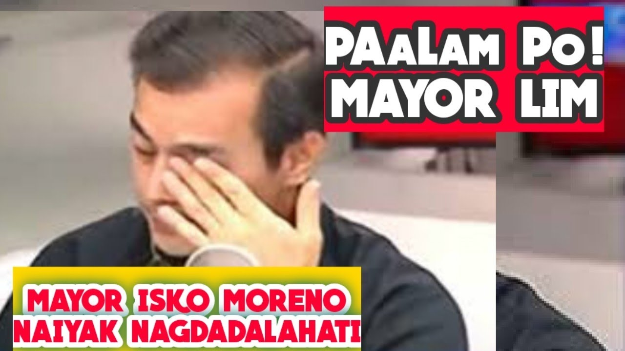NAiYak si MAYOR ISKO SA PAGPANAW NI DaTiNG MAYOR ALFREDO LIM