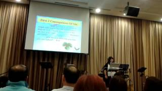 Dr. Michelle  Strydom's @ Good gift city church Singapore :-)❤✔✴✴