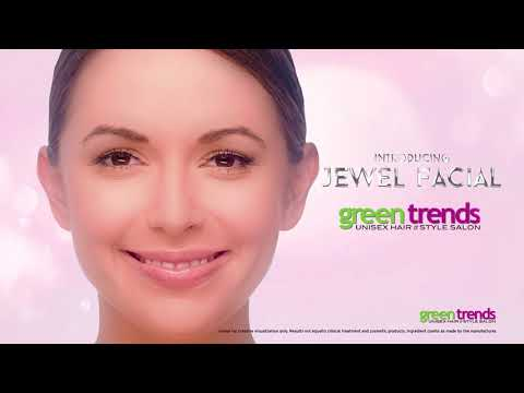 green trends launches Jewel Facial, a facial to feel precious