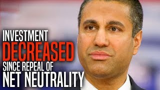 Ajit Pai's Argument for Net Neutrality Repeal Just Blew Up in His Face