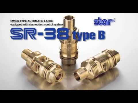 Star SR-38 Type B 10-Axis CNC Swiss-type Automatic Lathe