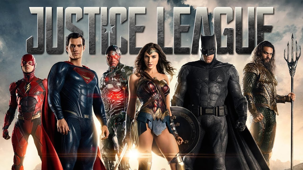 Justice League Liên Minh Công Lý Poster
