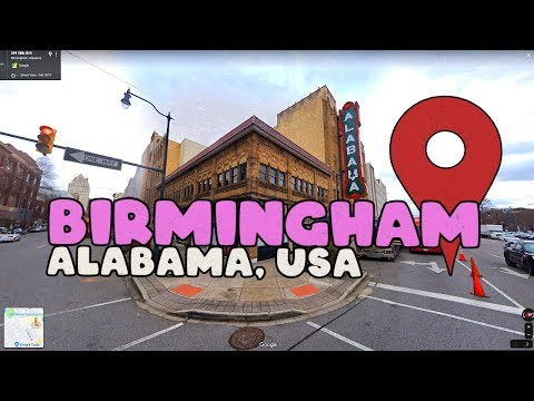 Take a Virtual Tour of Birmingham Alabama!