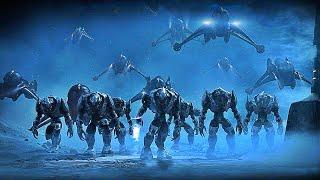 Человечество на пороге вторжения | игрофильм Halo Wars Definitive Edition | фантастический фильм