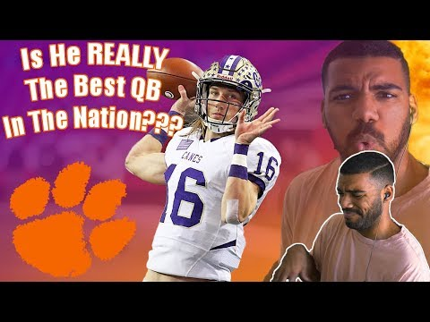 The REAL!!! #1 Quarterback In High School?!?!?- Trevor Lawrence Highlights [Reaction]