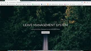 The objective of creating a leave management system is to help an organization easily track and manage leaves within their organization. we have implemen...