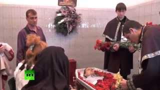 В Одессе продолжаются похороны погибших во время пожара в Доме Профсоюзов