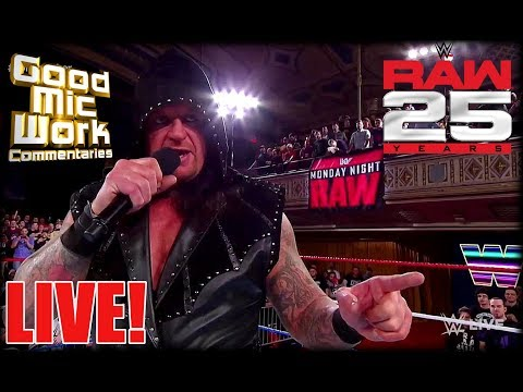 WWE RAW 25th Anniversary LIVE Review