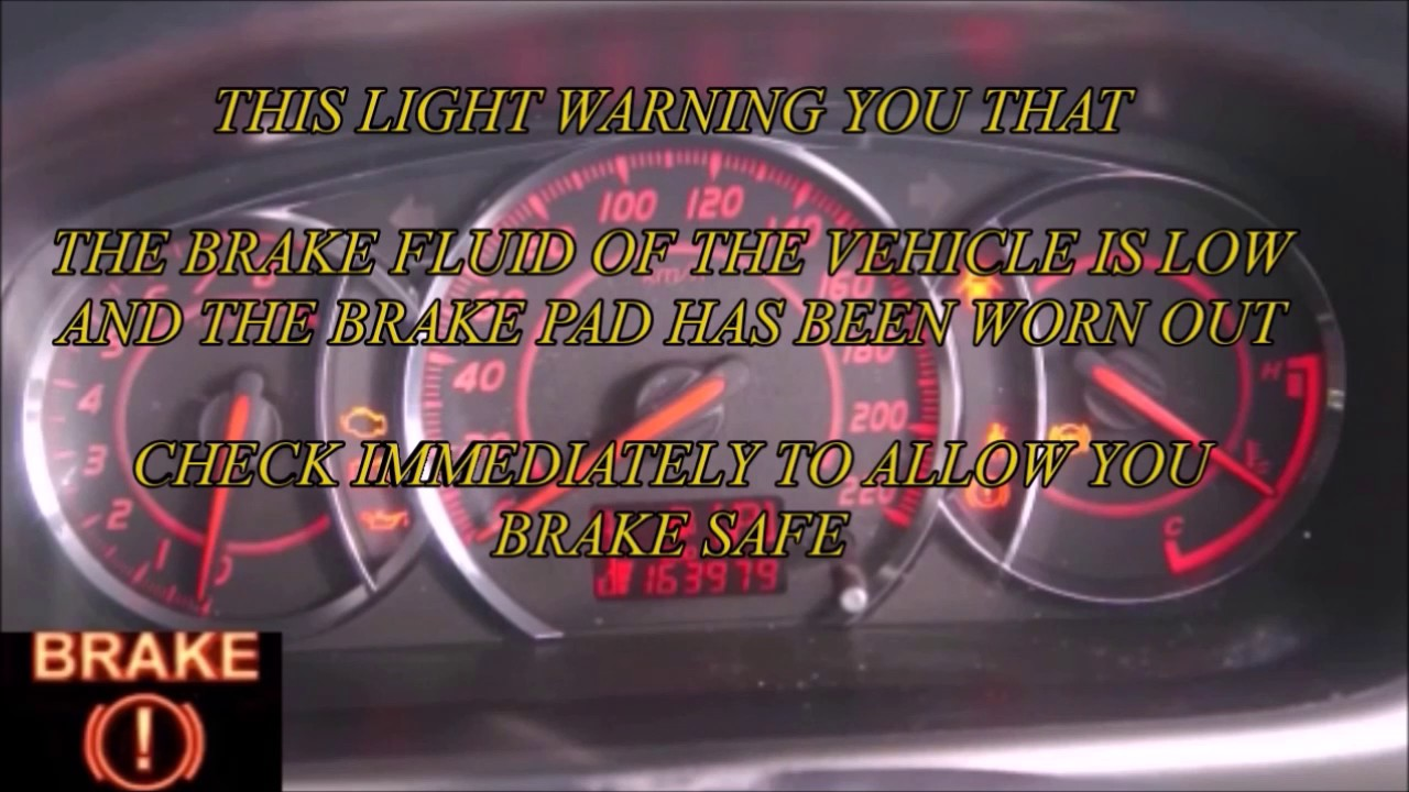 Car Warning Light Perodua Myvi