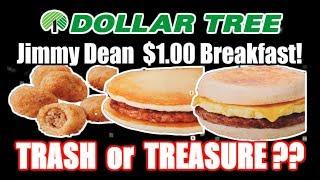 (3) DOLLAR TREE $1.00 Jimmy Dean Breakfasts! - TRASH OR TREASURES?? - The Wolfe Pit