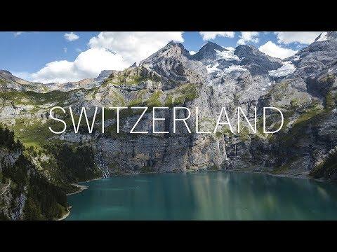 AMAZING SWITZERLAND - OBERLAND  [4K Aerial Footage]