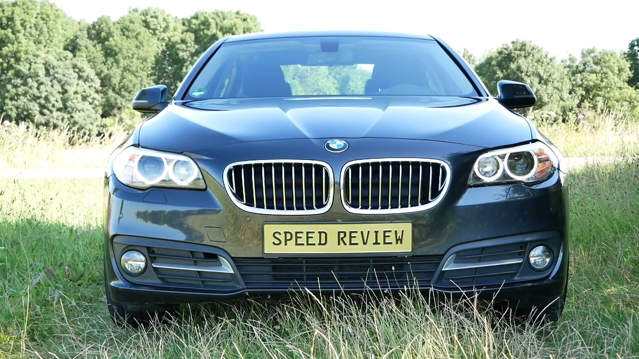 BMW 520D 190HP F10 LCI TOP SPEED ON GERMAN AUTOBAHN [NO SPEED LIMIT] GERMANY 4K POV