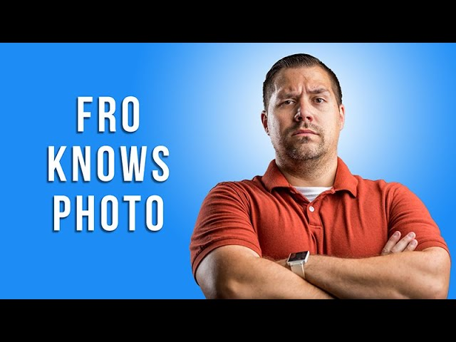 Fro Knows Photo with Jared Polin of froknowsphoto.com