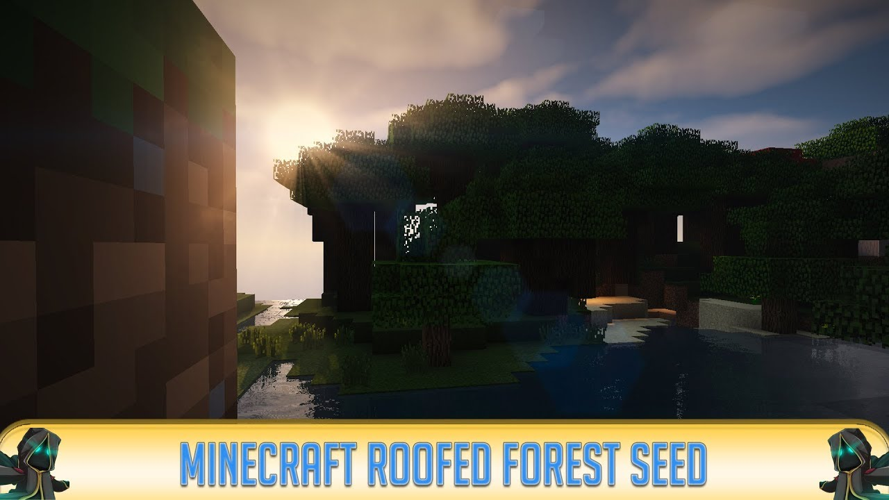 ✔ Minecraft 1 14: Amazing Roofed Forest Biome Seed