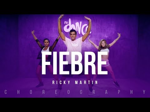 Fiebre - Ricky Martin | FitDance Life (Coreografía) Dance Video