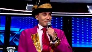 Showmatch 2010 - Marcelo Polino se transformó en Aníbal Pachano