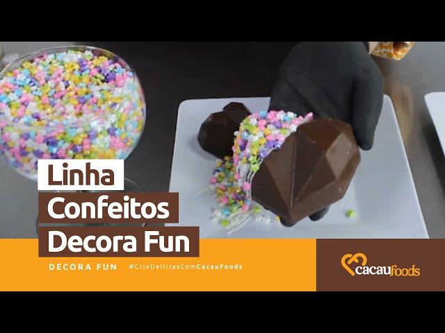 Modos de Aplicações - Linha Confeitos Decora Fun #CrieDelíciasComCacauFoods