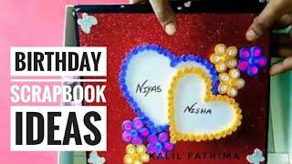 Scrapbook ideas | Birthday Scrapbook Greeting card For Husband-wife-BF-GF-friend |  birthday card