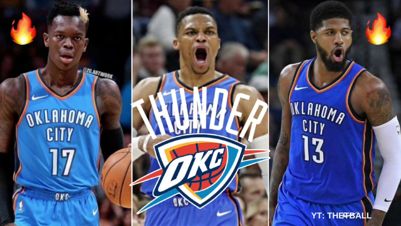 Previewing the Oklahoma City Thunder 2018-19 NBA Season   Predictions!  5e1b6e1e2