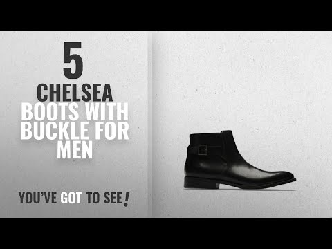 Top 10 Chelsea Boots With Buckle [ Winter 2018 ]: Reaction Kenneth Cole Chelsea Buckle Boot - Men's