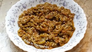 Bhune hue Turai - Tasty Quick & Easy Sabzi  - Sabzi Recipe - Aliza In The Kitchen