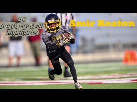 Amir Keaton 8u Youth Football Highlights