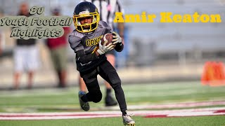 Amir Keaton 8u Youth Football Highlights