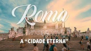 🇮🇹 Um dia em ROMA   VLOG de viagem na Itália