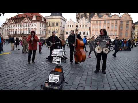 What a Wonderful World by Street Jazz Band in Prague