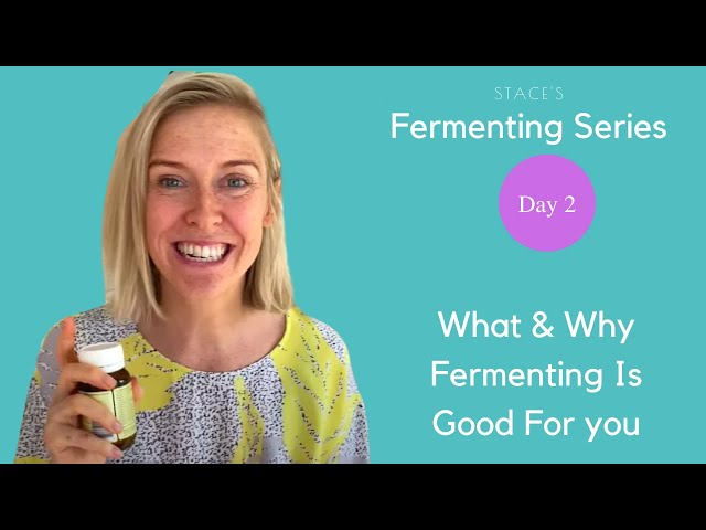 Stace's Fermenting Series - Day 2 ~ Learn What & Why Fermented Foods Are Good For You