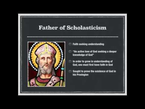 Introduction To St Anselm Of Canterbury