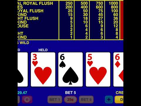 Video Poker Classic By Tapinator