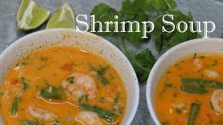 Thai Coconut Shrimp Soup   The Frugal Chef