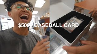 I GOT A $5000 BABE RUTH BASEBALL CARD!!!