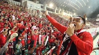 INDONESIA VS THAILAND - Jebreeet, Co- Dirijen di Stadion Pakansari